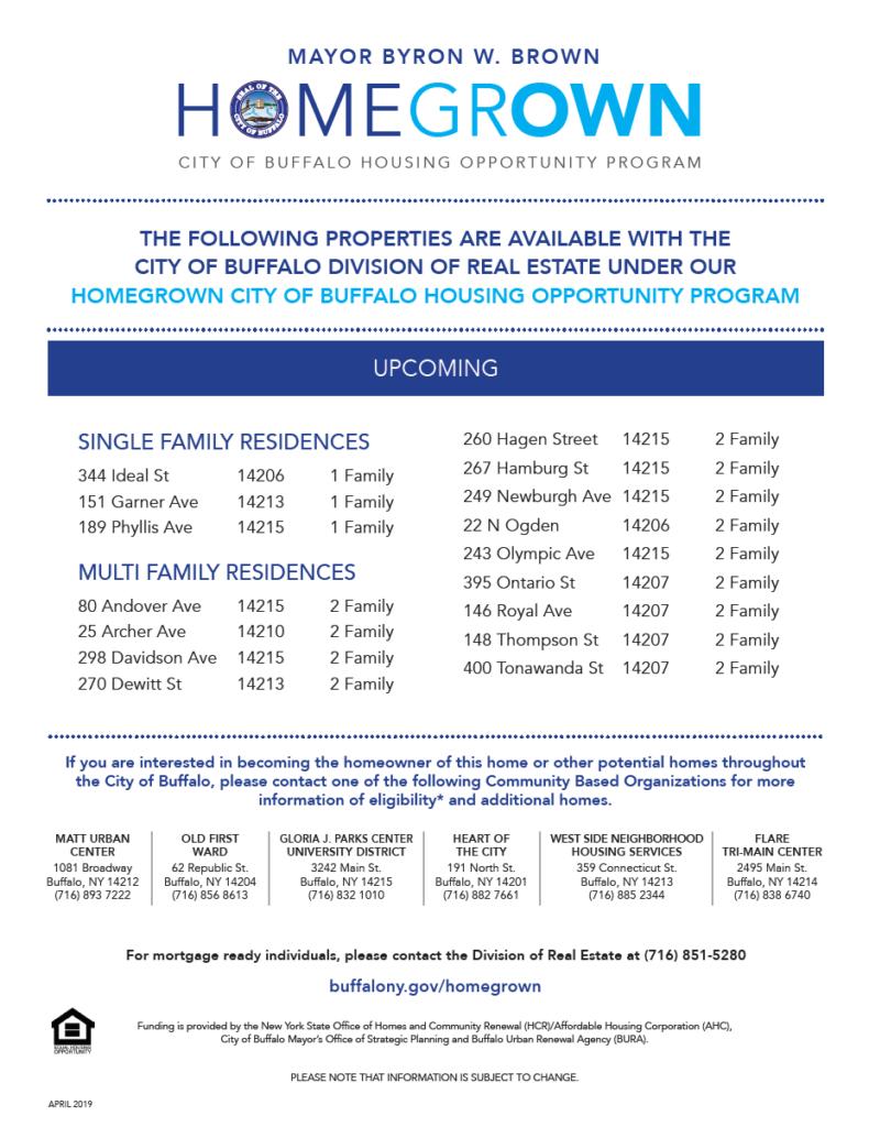 City of Buffalo – Lt  Col  Matt Urban Human Services Center of WNY